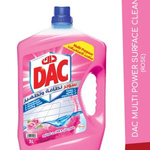 DAC MULTI POWER SURFACE CLEANER ROSE 3L