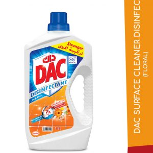 DAC SURFACE CLEANER DISINFECT FLORAL 1.5L