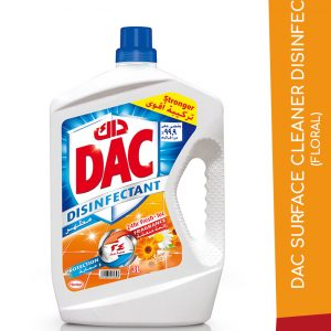 DAC SURFACE CLEANER DISINFECT FLORAL 3L