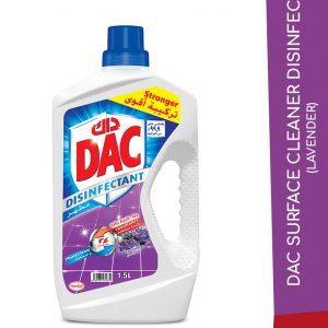 DAC SURFACE CLEANER DISINFECT LAVENDER 1.5L