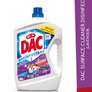 DAC SURFACE CLEANER DISINFECT LAVENDER 3L