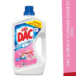DAC SURFACE CLEANER DISINFECT ROSE 1.5L