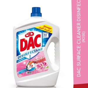 DAC SURFACE CLEANER DISINFECT ROSE 3L