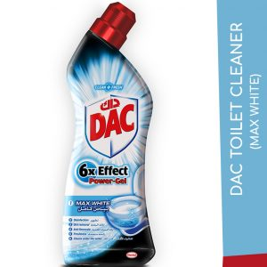 DAC TOILET CLEANER MAX WHITE 750ML