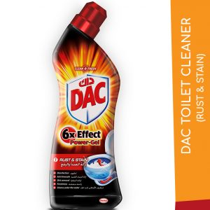 DAC TOILET CLEANER RUST & STAIN 750ML