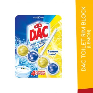 DAC TOILET RIM BLOCK LEMON 50G