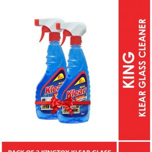 KINGTOX PACK OF 2 KINGTOX KLEAR GLASS CLEANER 500ML -min