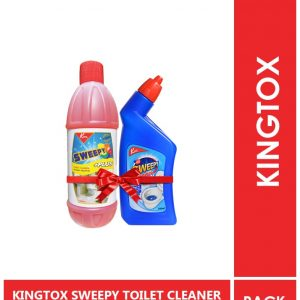 Kingtox SWEEPY TOILET CLEANER 600ML + SWEEPY TOILET BOWL CLEA-min